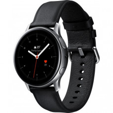 Умные часы Samsung Galaxy Watch Active 2 40mm Stainless steel Silver (SM-R830NSSASEK) + Карта памяти на 64Gb в подарок!