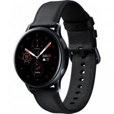 Умные часы Samsung Galaxy Watch Active 2 40mm Stainless steel Black (SM-R830NSKASEK) + Карта памяти на 64Gb в подарок!