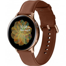 Умные часы Samsung Galaxy Watch Active 2 44mm Stainless steel Gold (SM-R820NSDASEK) + Карта памяти на 128Gb в подарок!