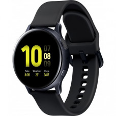 Умные часы Samsung Galaxy Watch Active 2 40mm Aluminium Black (SM-R830NZKASEK) + Карта памяти на 64Gb в подарок!