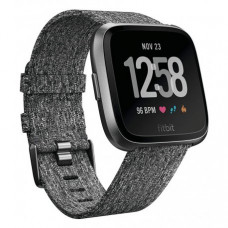 Смарт часы Fitbit Versa Fitness Watch Special Edition Charcoal Woven (FB505BKGY)