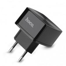 Сетевое зарядное устройство Hoco C26 Mighty Power QC3.0 Solo USB 3A Black