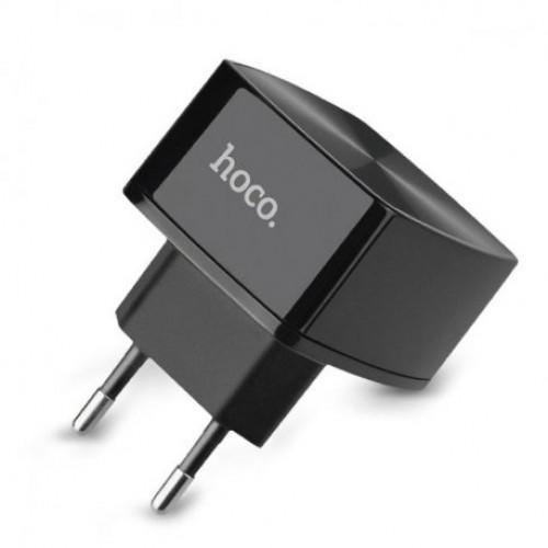 Купить Сетевое зарядное устройство Hoco C26 Mighty Power QC3.0 Solo USB 3A Black