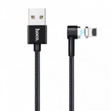 Кабель Hoco U20 Magnetic USB to microUSB + Lightning
