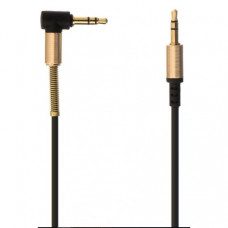 Кабель Hoco UPA02 Spring Audio AUX-AUX 1m Black (UPA02)