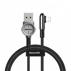 Кабель Baseus Exciting Lightning Cable 2.4A 1m Black (CALCJ-A01)